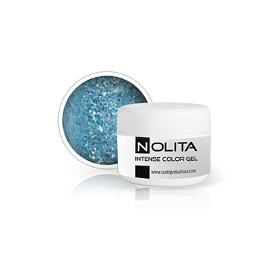 Nolita Intensive Color Gel - Glitter Blue Jeans 11