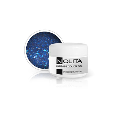 Nolita Intensive Color Gel - Glitter Eletric Blue 08