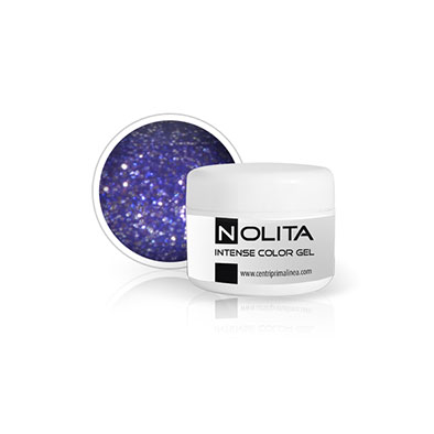 Nolita Intensive Color Gel - Glitter Purple 10