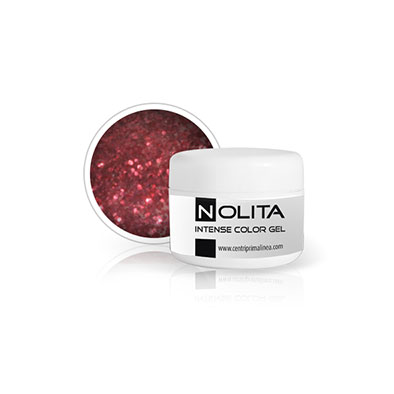 Nolita Intensive Color Gel - Glitter Red 01